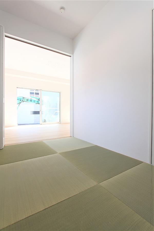 (A号地)和室