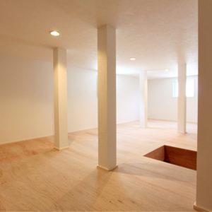 1号地 屋根裏収納スペース