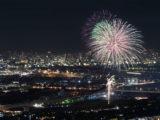 今年の猪名川花火大会は8月17日に開催