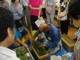 9月の講習会「家庭で簡単な野菜作り」